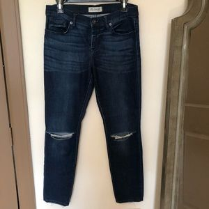 Madewell Skinny Jeans Rip and Repair Edition